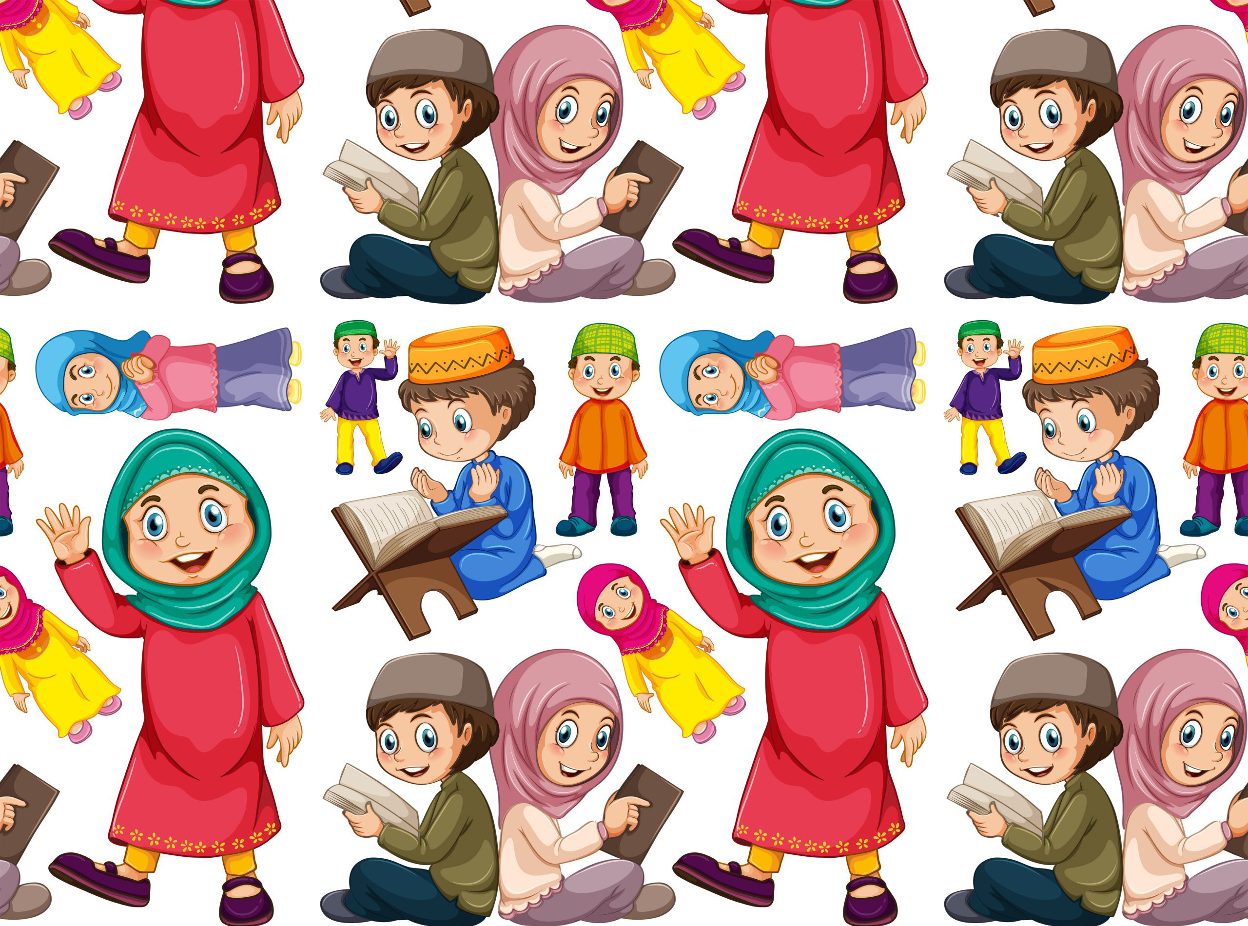 Islamitische lessen voor kinderen is leuk