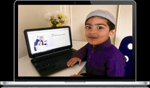 Islamitische lessen voor kinderen met zoom